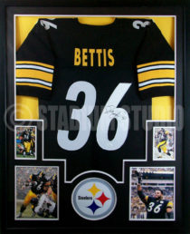 Bettis Framed Jersey