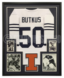 Butkus, Dick Framed Jersey