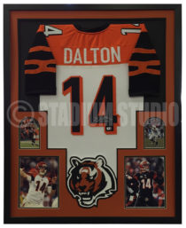 Dalton, Andy Framed Jersey