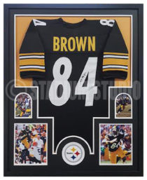 Brown, Antonio Framed Jersey