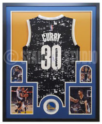 Curry, Steph Framed Jersey_Alternate