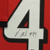 Beasley, Vic Framed Falcons Jersey2_Number