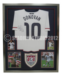 Donovan, Landon Framed USA Jersey