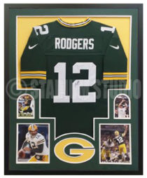 Rodgers, Aaron Framed Jersey