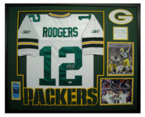 Rodgers, Aaron Framed Jersey3