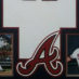 Jones, Chipper Framed Braves Jersey_Photos