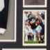Lee, Sean Framed Penn State Jersey_Photos