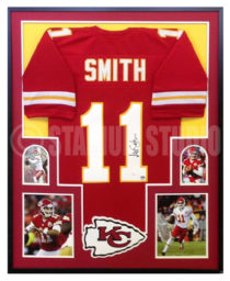 Smith, Alex Framed Chiefs Jersey