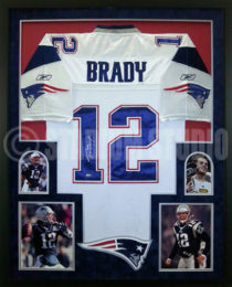 best website 80183 52e32 Rob Gronkowski Autographed Framed Patriots Jersey - The ...
