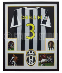 Chiellini Framed Jersey