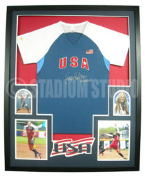 Finch, Jennie Framed Jersey