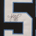 Kuechly, Luke Framed Jersey_Number