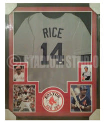 Rice, Jim Framed Jersey