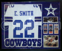 Smith, Emmitt Framed Jersey