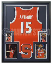 Anthony, Carmelo Framed Jersey_Syracuse