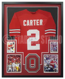 Carter, Cris Framed Jersey_Ohio State