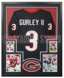 Gurley, Todd Framed Jersey_Georgia