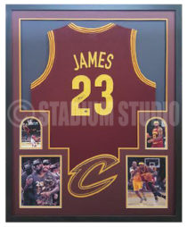 James, Lebron Framed Jersey_Cavaliers
