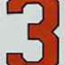 Machado, Manny Framed Jersey_Number
