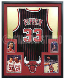 Pippen, Scottie Framed Jersey