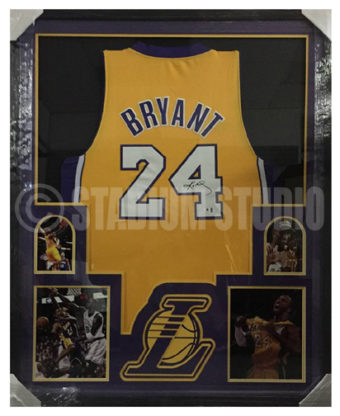 Kobe Bryant Autographed Framed Lakers