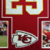 Charles, Jamaal Framed Chiefs Jersey_Photos