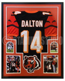 Dalton, Andy Framed Bengals Jersey