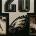 Dawkins, Brian Framed Eagles Jersey_Photos