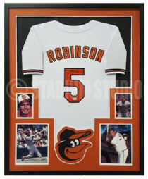 Robinson, Brooks Framed Jersey