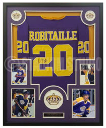 Robitaille, Luc Framed Jersey