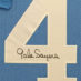 Sayers, Gale Framed Kansas Jersey_Number