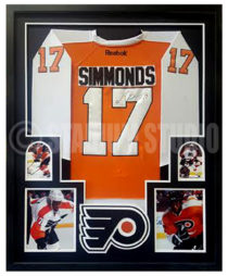 Simmonds, Wayne Framed Jersey