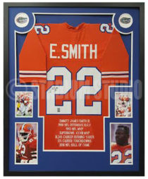 Smith, Emmitt Framed Jersey_Florida