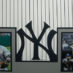 Cano, Robinson Framed Yankees Jersey_Photos
