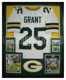 Grant, Ryan Framed Packers Jersey