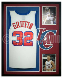 Griffin, Blake Framed Clippers Jersey