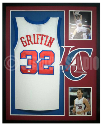 release date: 9c097 617c9 Blake Griffin Autographed Framed Clippers Jersey