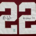 Ingram, Mark Framed Alabama Jersey_Numbers