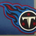 Johnson, Chris Framed Titans Jersey_Logo