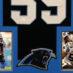 Kuechly, Luke Framed Panthers Jersey_Photos