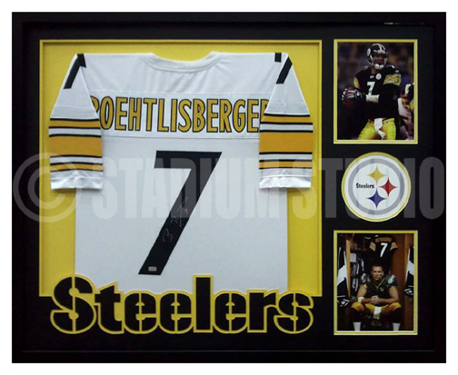 autographed ben roethlisberger jersey