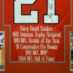 Sanders, Barry Framed OSU Jersey_Photos