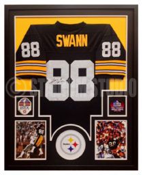 competitive price b4edc 70e63 Lynn Swann Autographed Framed Steelers Jersey - The Stadium ...